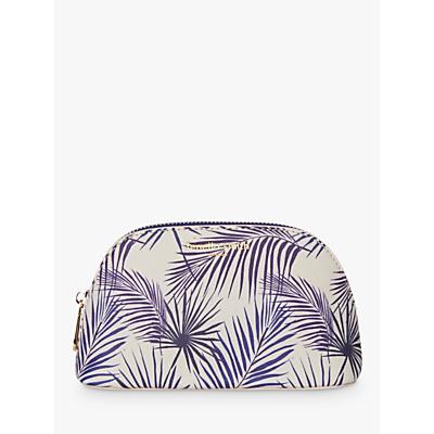 Fenella Smith Palm Cosmetic Case, Blue