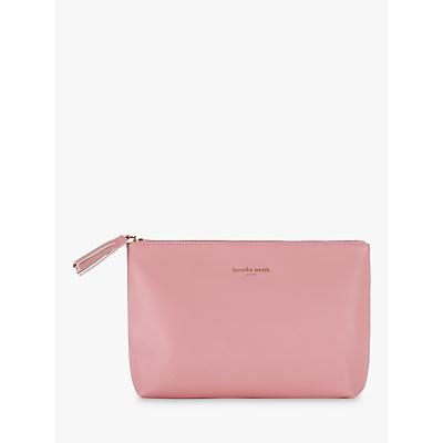Fenella Smith Palm Wash Bag, Blush Pink
