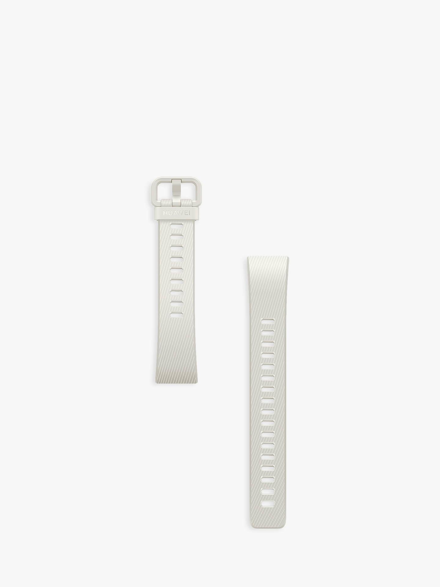 Huawei Band 3 Pro Fitness Tracking Wristband, White/Gold