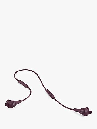 B&O PLAY by Bang & Olufsen Beoplay E6 In-Ear Headphones with Inline Mic/Remote, Dark Plum