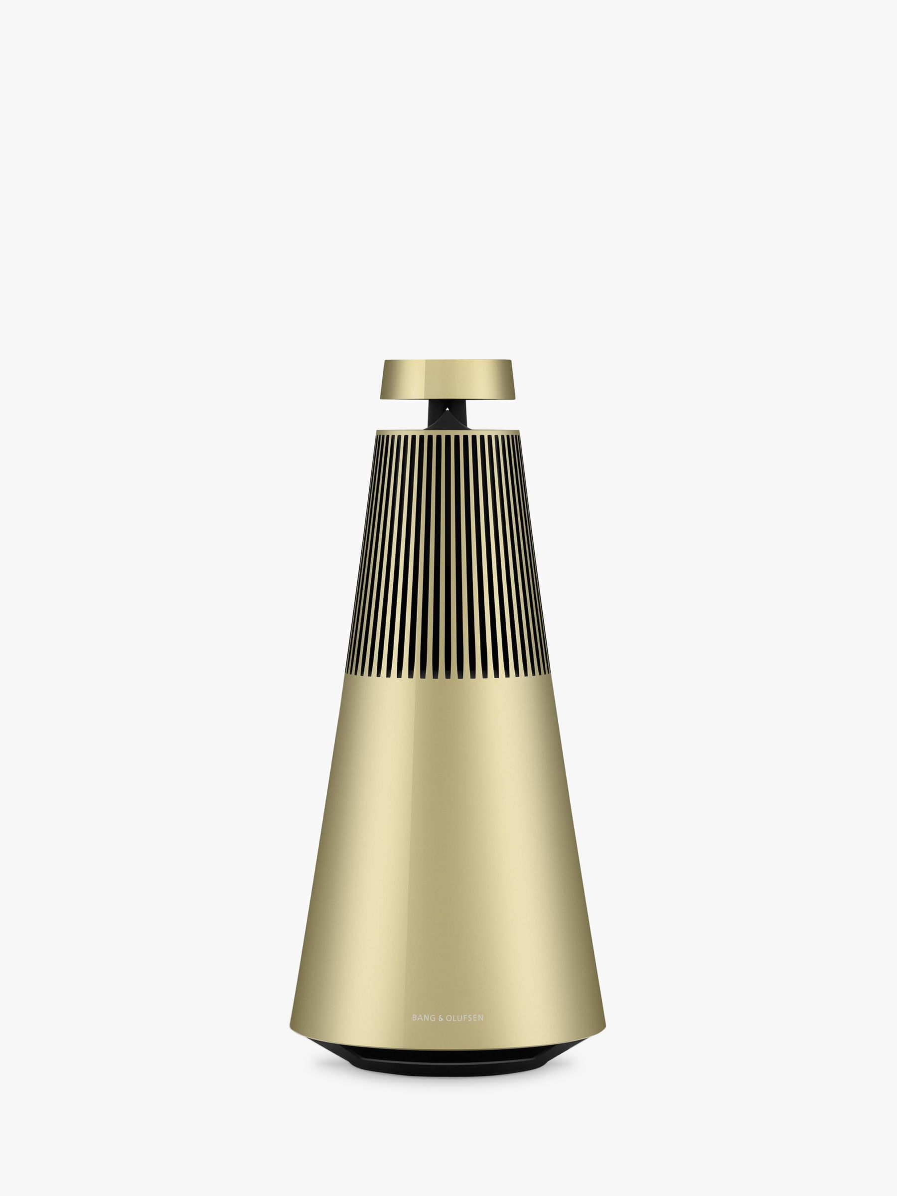 Buy Bang & Olufsen BeoSound 2 Smart Speaker with the Google Assistant, Brass Online at johnlewis.com