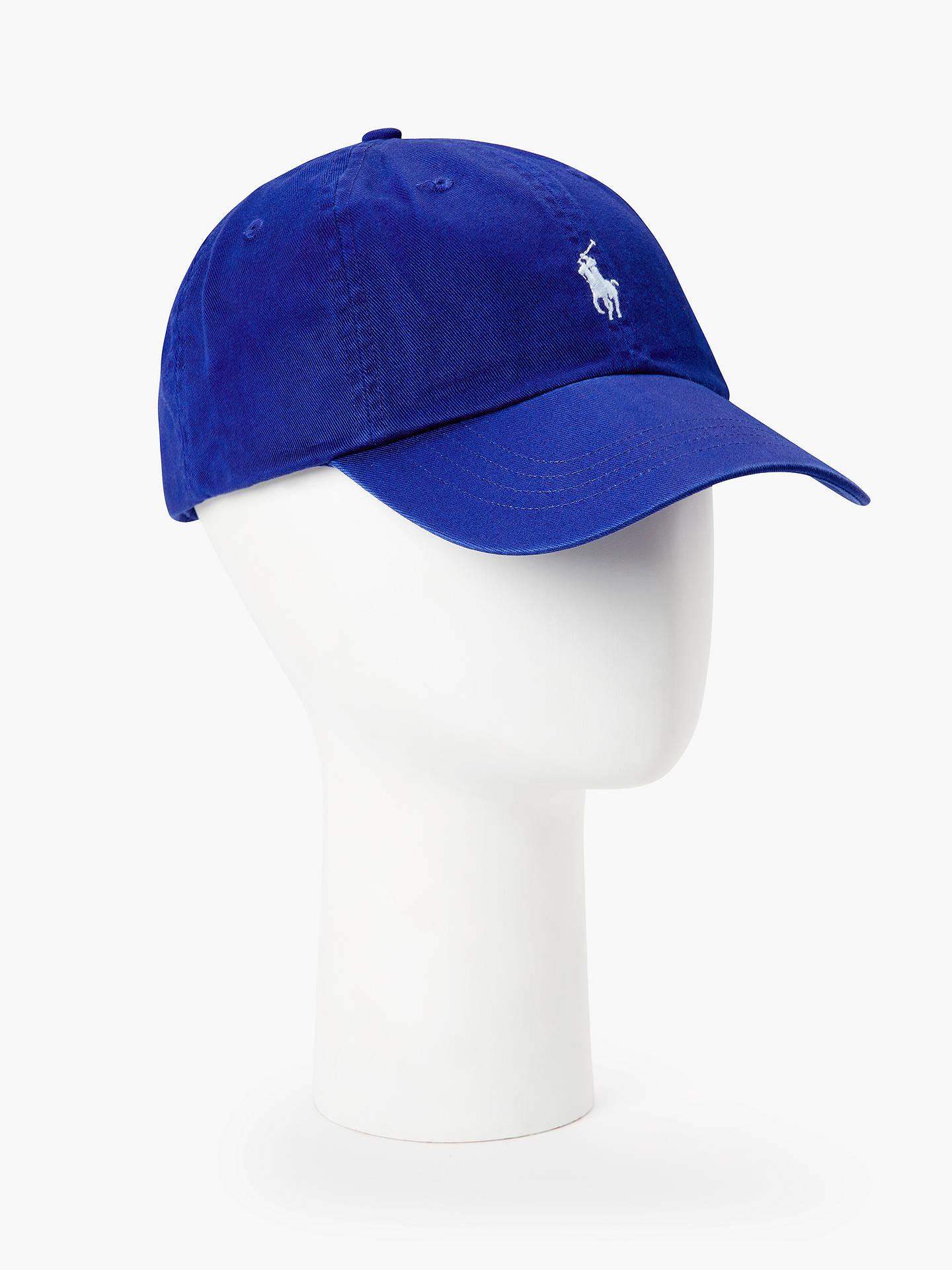 Geschicktes Design bis zu 60% sparen Freiraum suchen Polo Ralph Lauren Baseball Cap, Bright Blue