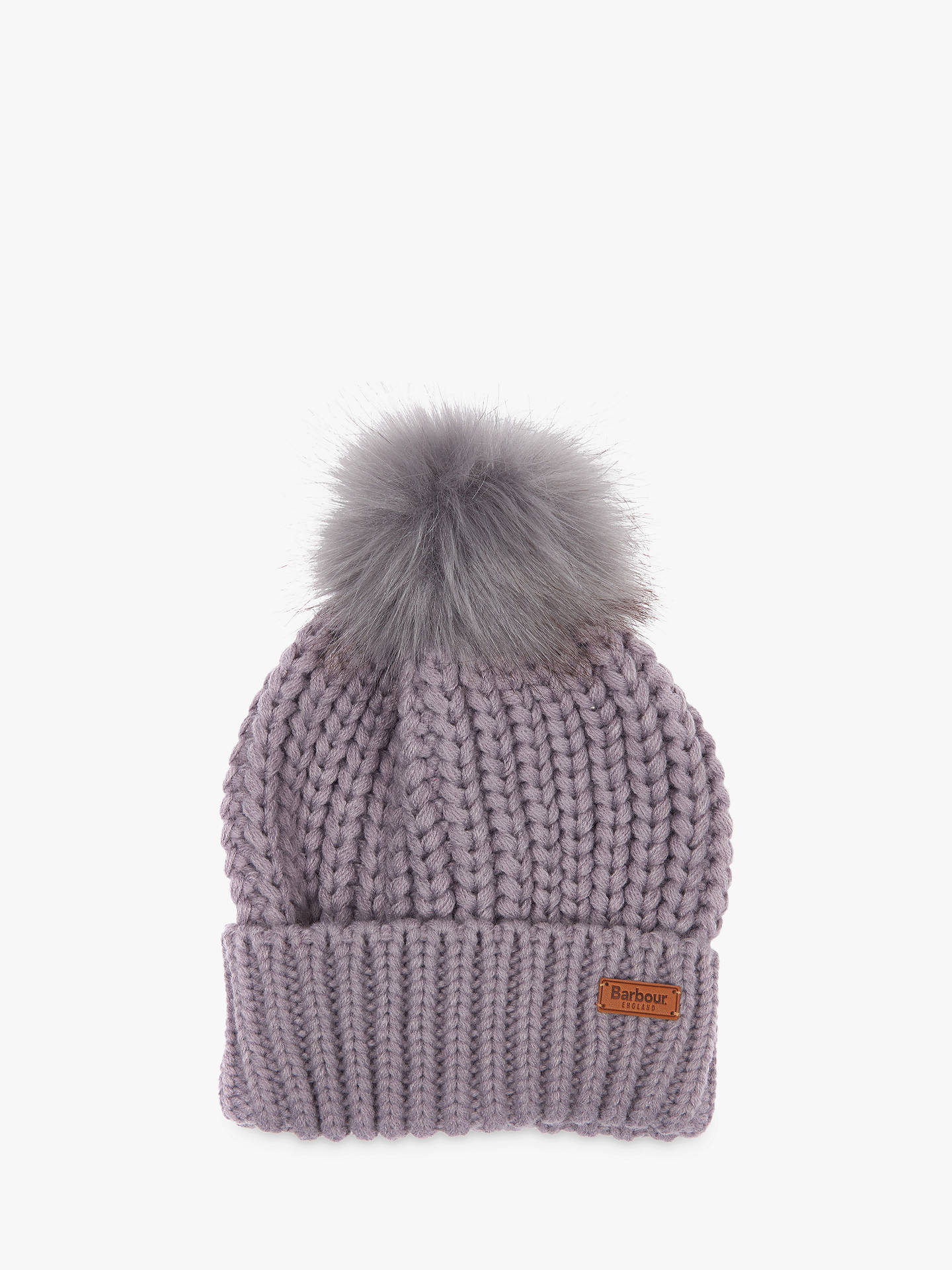 26db15e95a1e9 Barbour Saltburn Pom Pom Beanie Hat at John Lewis   Partners