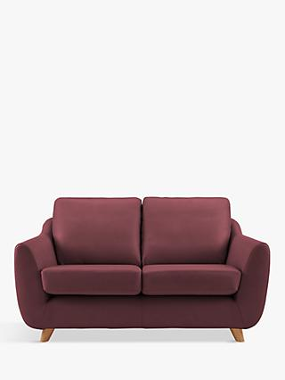 G Plan Vintage The Sixty Seven Small 2 Seater Leather Sofa