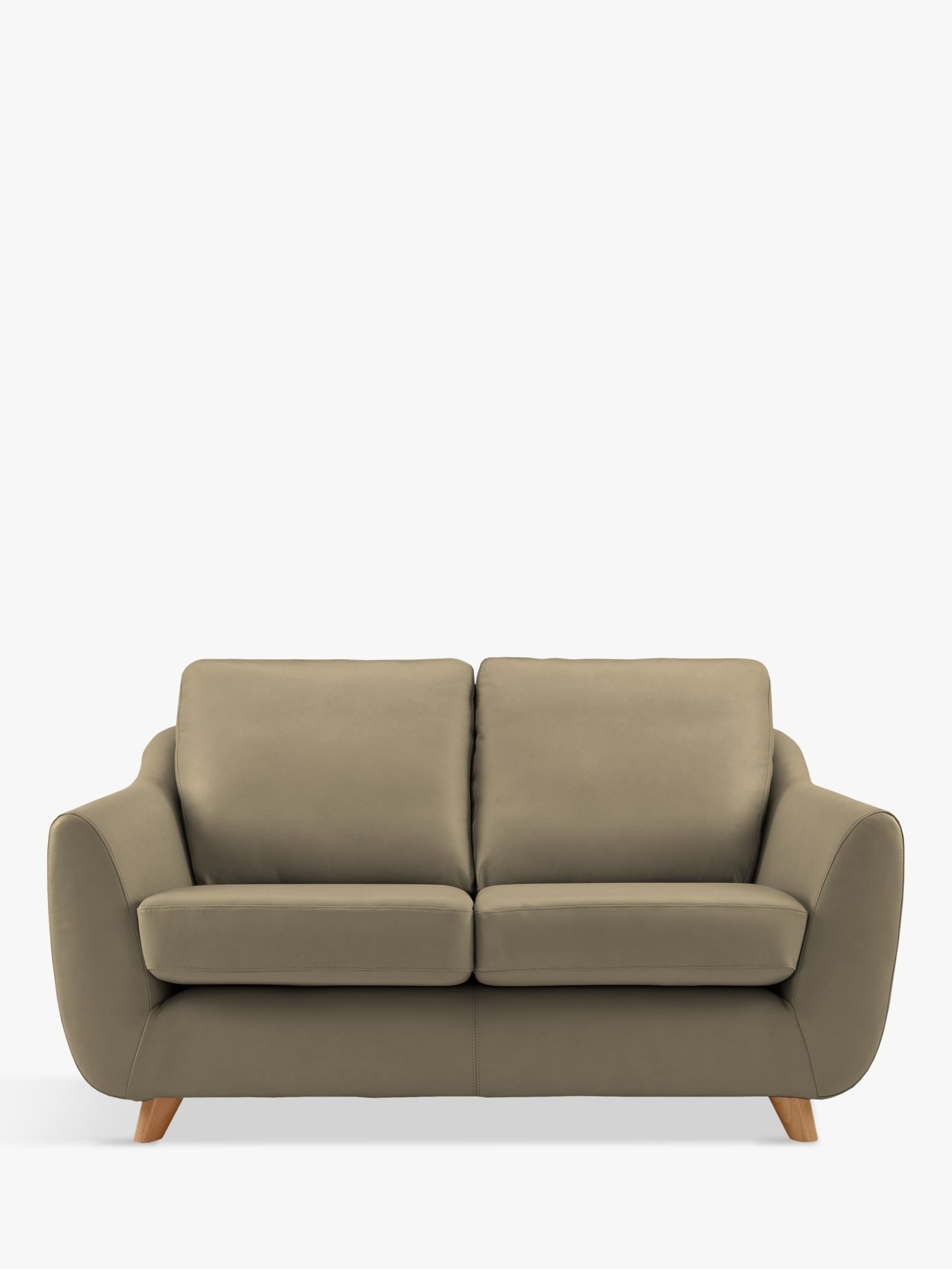 G Plan Vintage G Plan Vintage The Sixty Seven Small 2 Seater Leather Sofa