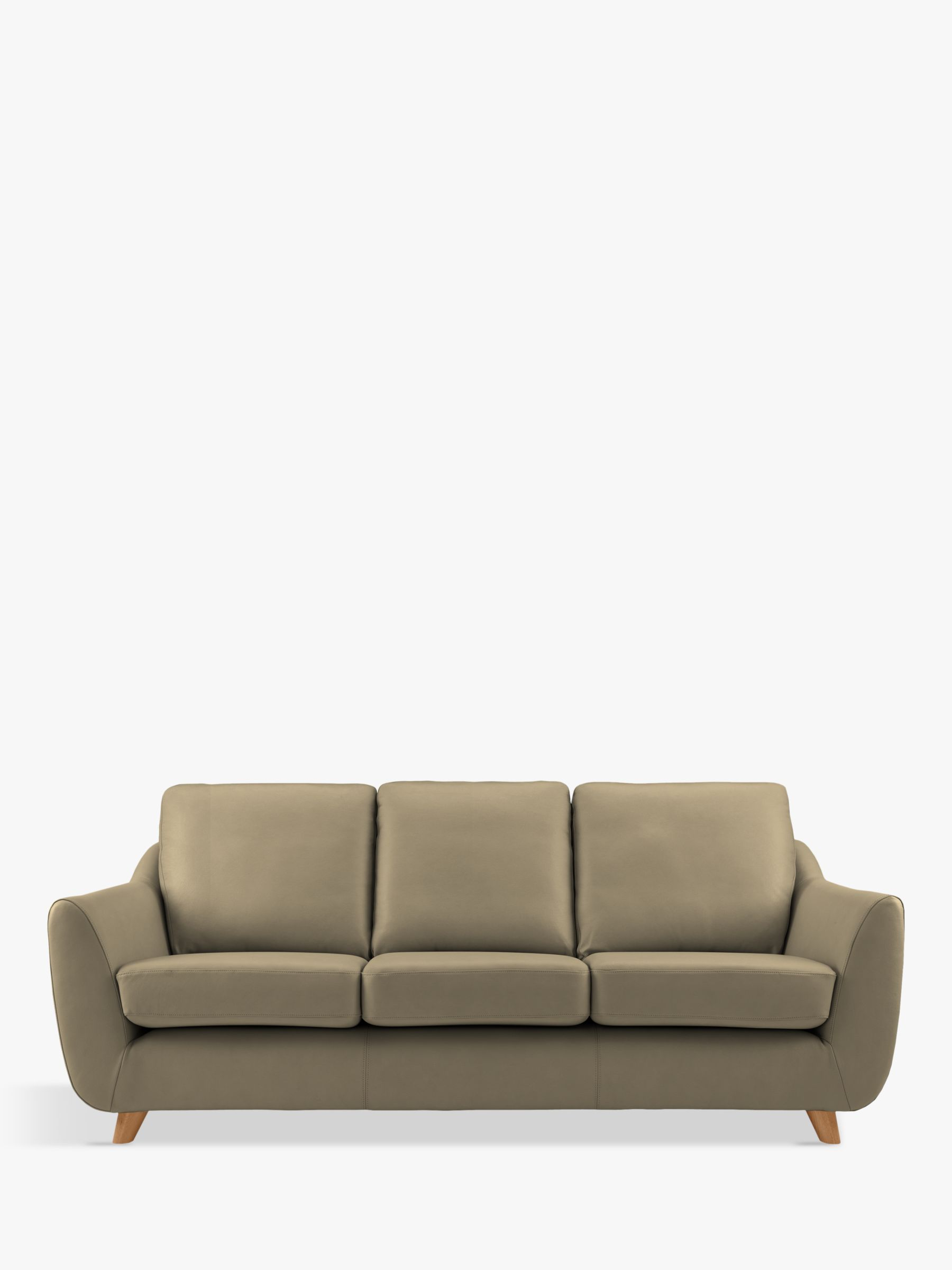 G Plan Vintage G Plan Vintage The Sixty Seven Large 3 Seater Leather Sofa