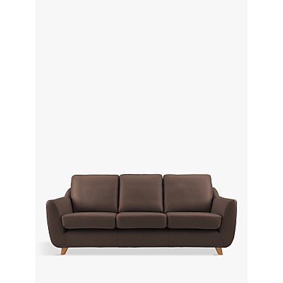 G Plan Vintage The Sixty Seven Large 3 Seater Leather Sofa