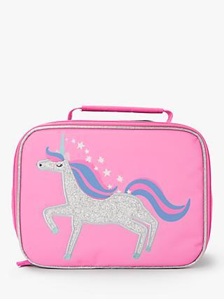 John Lewis & Partners Children's Unicorn Lunch Bag