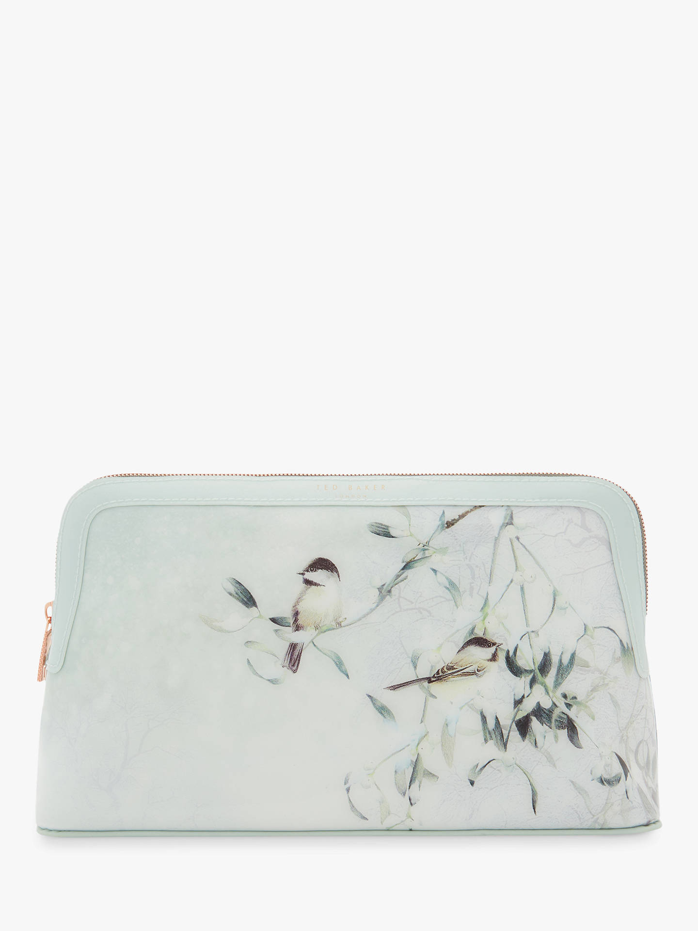 BuyTed Baker Asteria Mistletoe Kiss Wash Bag, Mint Online at johnlewis.com  ... 8fb3aef17d