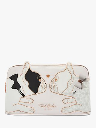 Ted Baker Candice Cotton Dog Wash Bag, Nude Pink