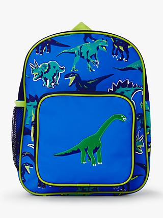 John Lewis & Partners Dinosaur Children's Backpack