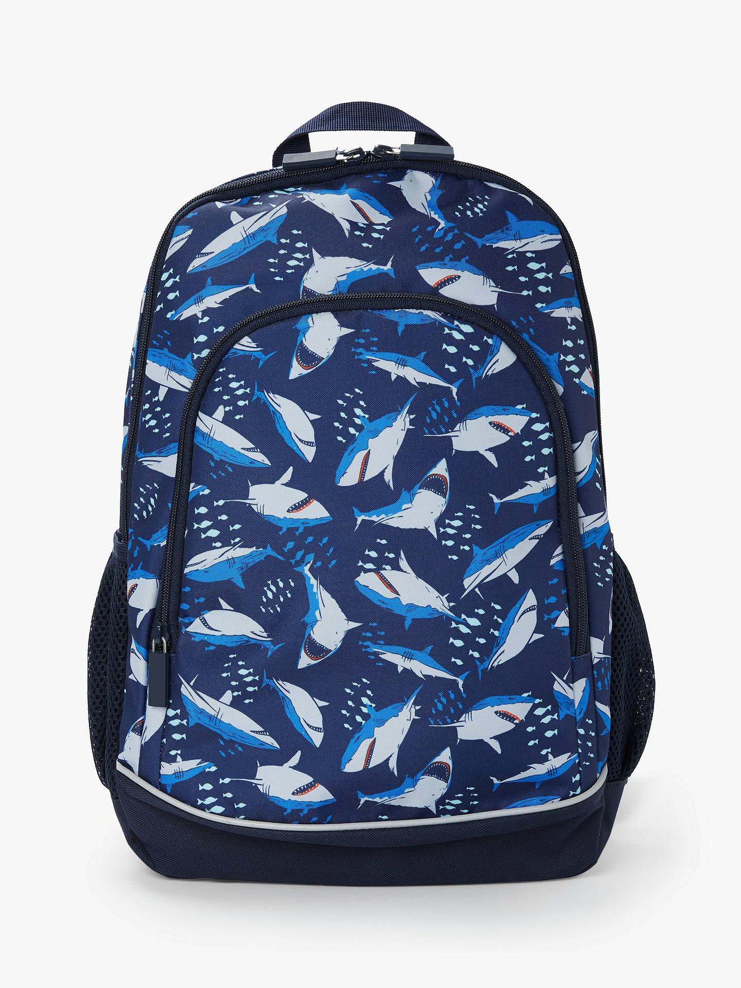 John Lewis & Partners Shark Children's Backpack