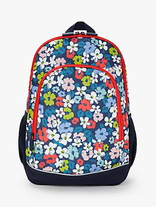 John Lewis & Partners Floral Children's Backpack