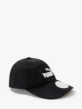 PUMA Children's Logo Baseball Cap, Black
