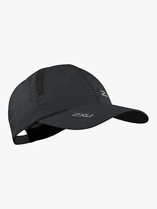 2XU Running Cap, One Size, Black