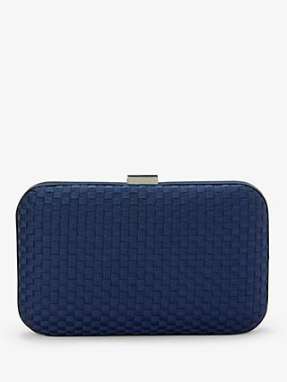 John Lewis & Partners Stella Geo Box Clutch Bag
