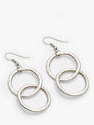 People Tree Double Ciricle Earrings