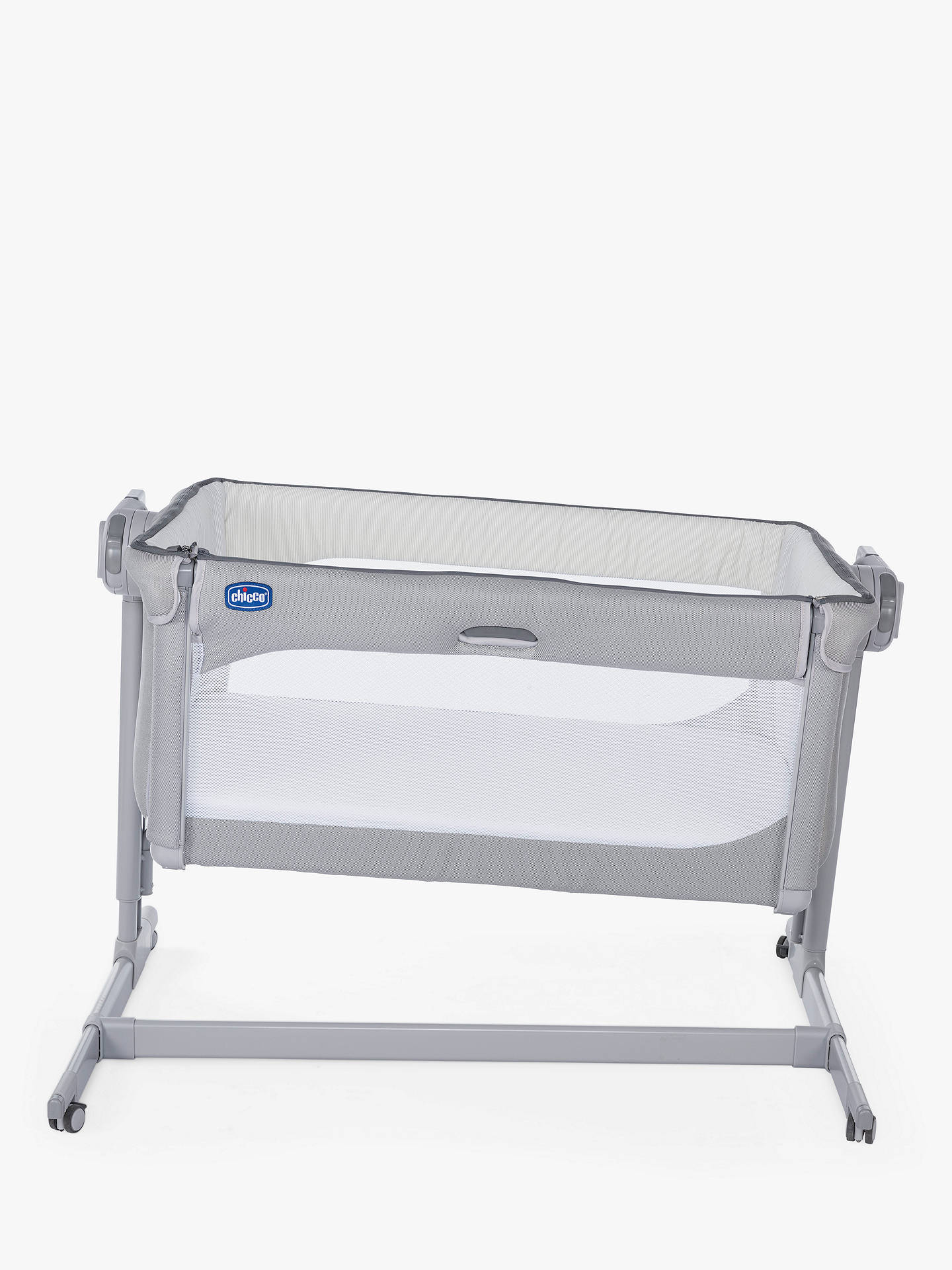 Buy Chicco Next To Me Magic Bedside Crib, Grey Online at johnlewis.com