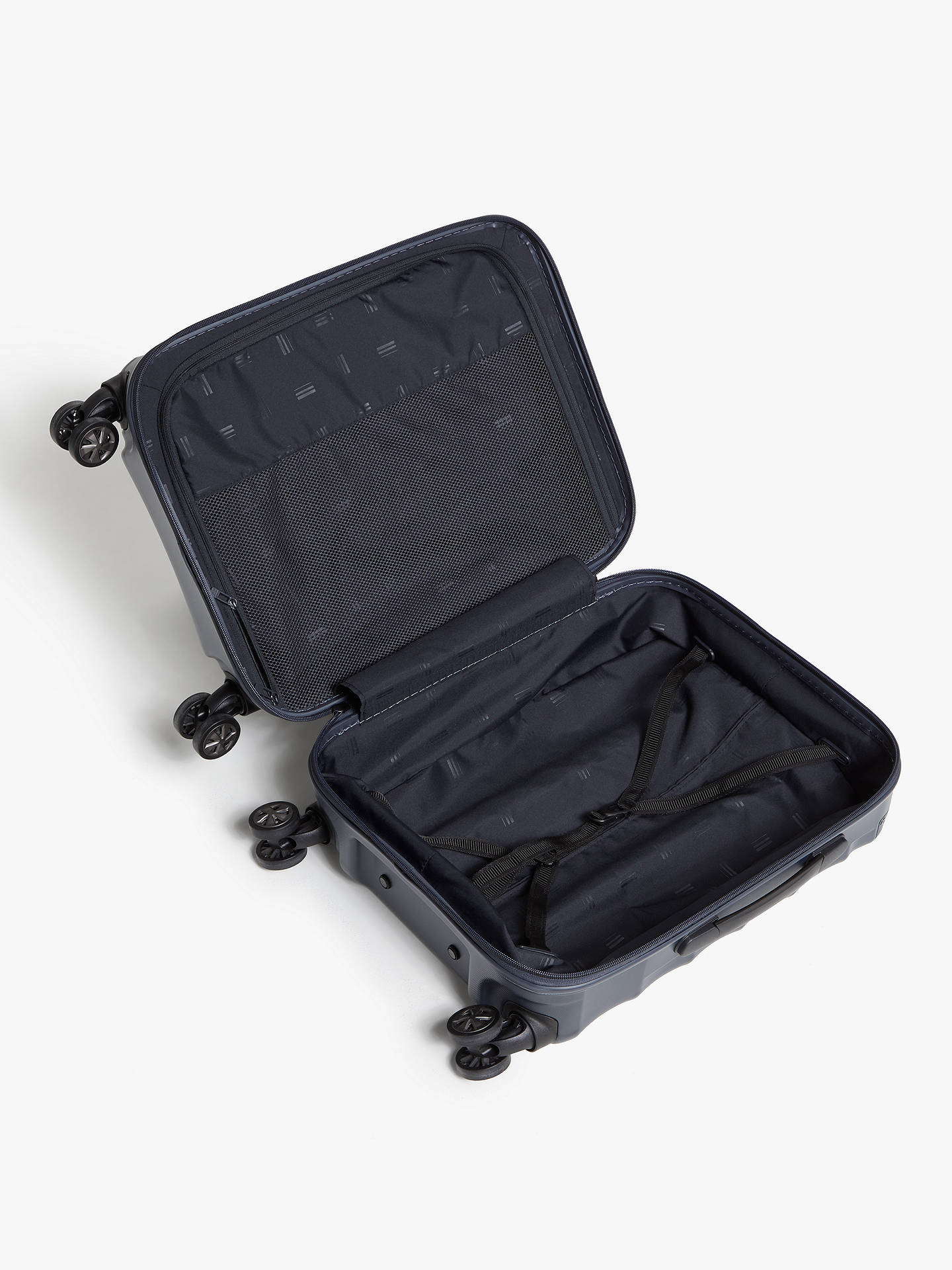 Buy John Lewis & Partners Copenhagen 55cm 4-Wheel Cabin Case, Grey Online at johnlewis.com