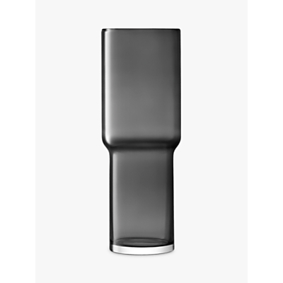 LSA International Utility Vase, Slate, H42cm