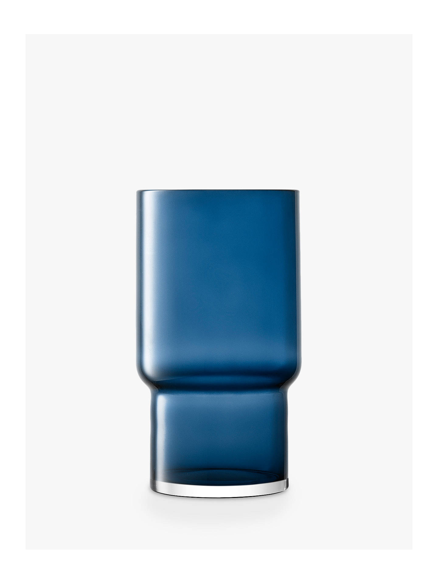 Buy LSA International Utility Vase, Sapphire, H30cm Online at johnlewis.com