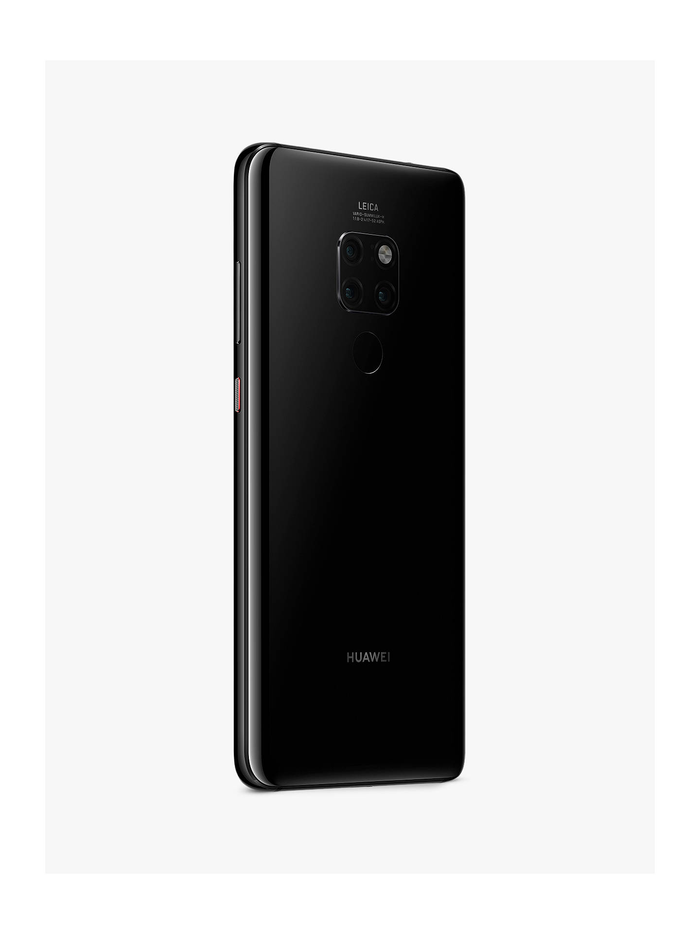 "Buy Huawei Mate 20 Smartphone, Android, 6.53"", 4G LTE, SIM Free, 128GB, Black Online at johnlewis.com"