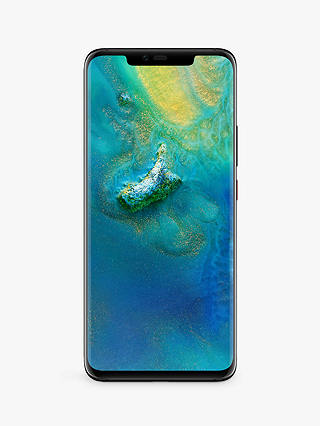 "Buy Huawei Mate 20 Pro Smartphone, Android, 6.39"", 4G LTE, SIM Free, 128GB, Black Online at johnlewis.com"