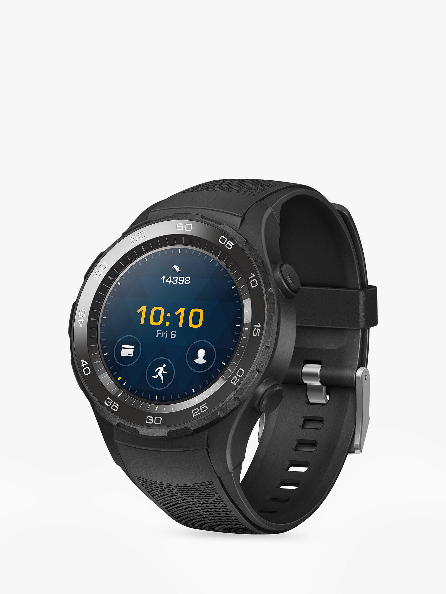 Buy Huawei Watch 2 Sport with HR and GPS, Black Online at johnlewis.com