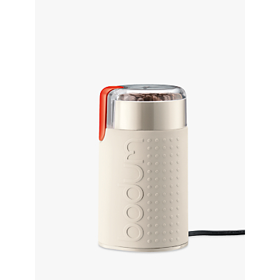 Bodum Bistro Electric Coffee Grinder, White
