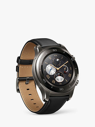 Buy Huawei Watch 2 Classic with HR and GPS, Titanium Grey Online at johnlewis.com
