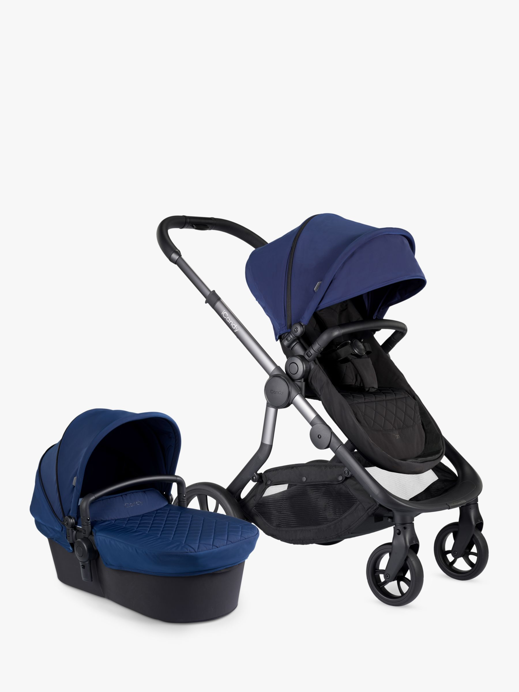 iCandy iCandy Orange Pushchair and Carrycot, Indigo
