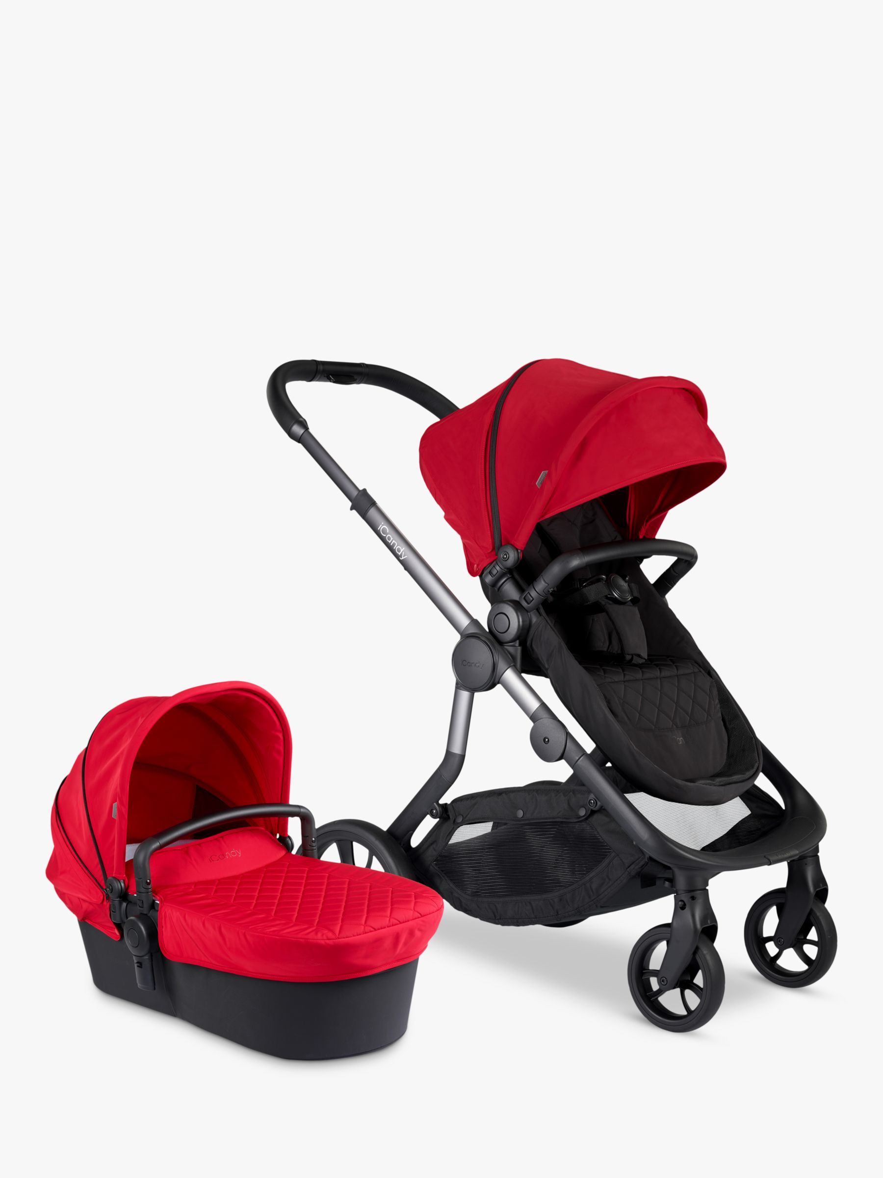 iCandy iCandy Orange Pushchair and Carrycot, Magma