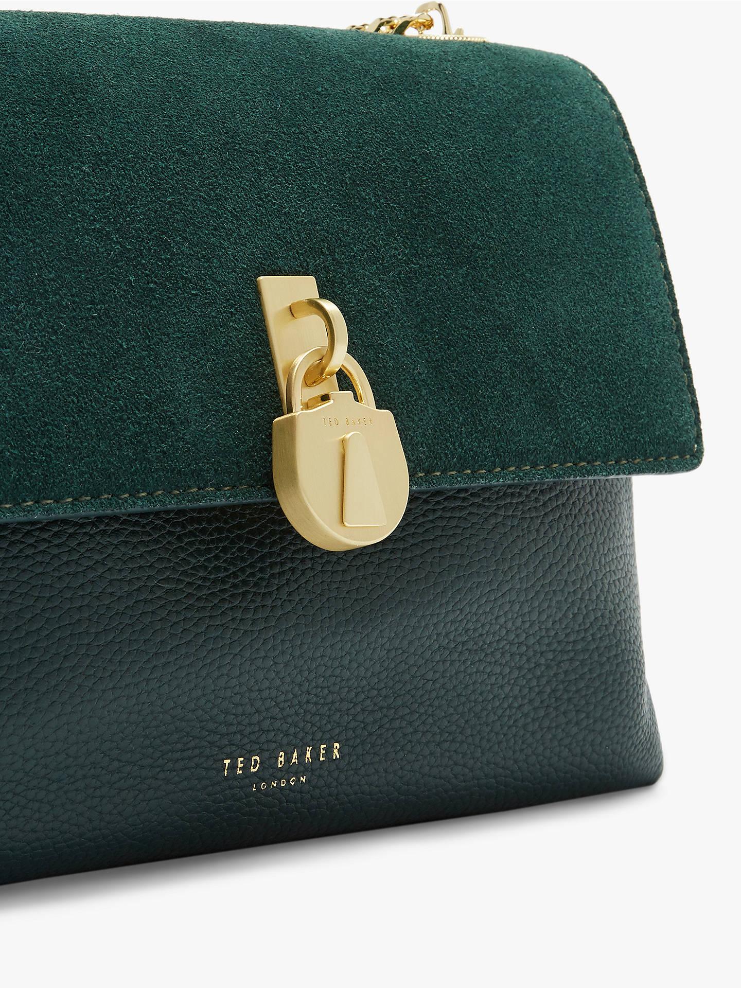 d7c897b4b529 ... Buy Ted Baker Helena Padlock Detail Leather Cross Body Bag