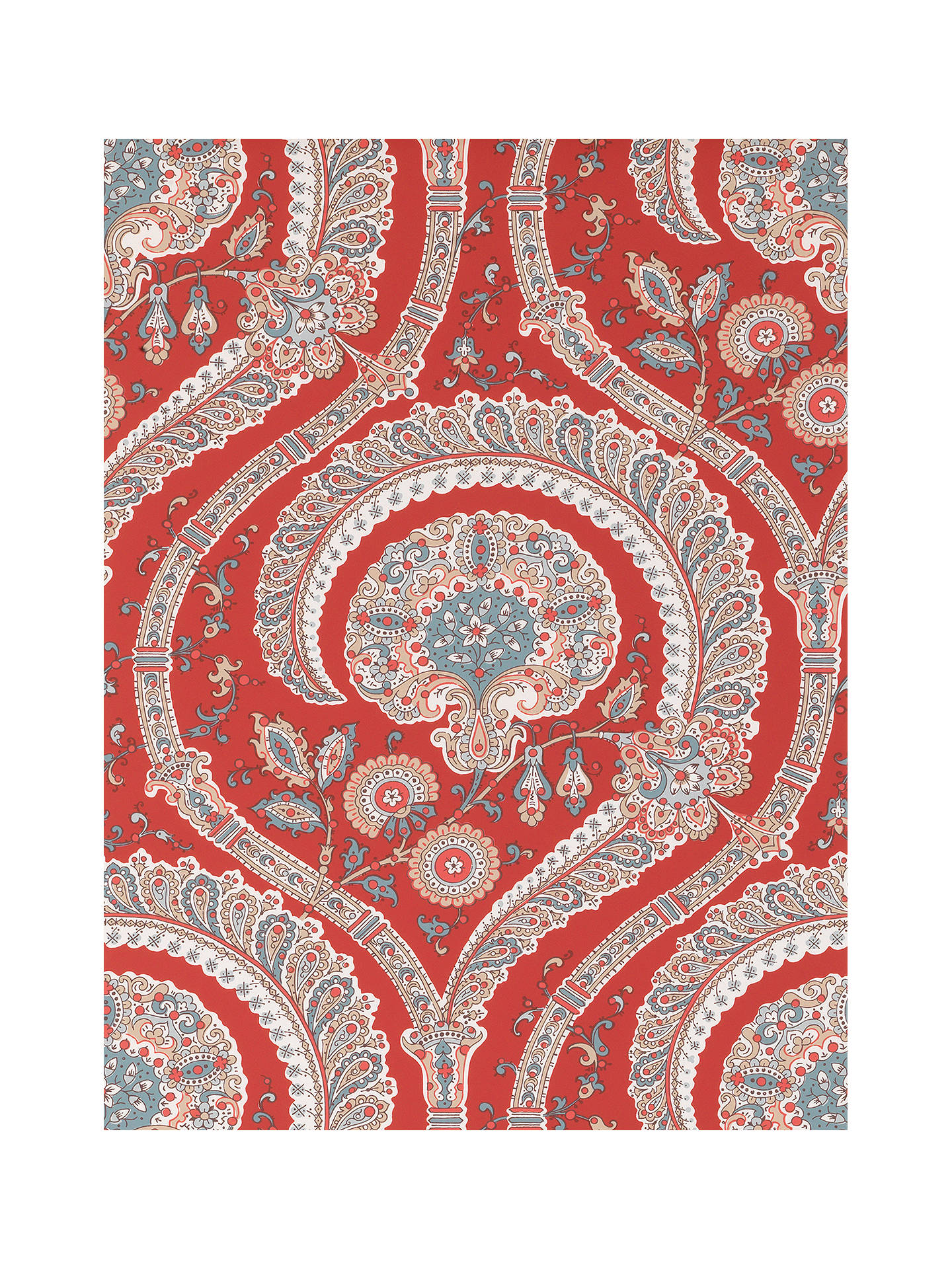 Buy Nina Campbell Les Indiennes Wallpaper, NCW4350-01 Online at johnlewis.com