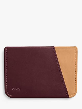 Bellroy Leather Micro Sleeve, Red