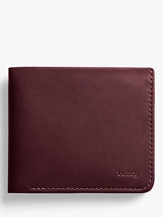Bellroy Square Leather Wallet, Red