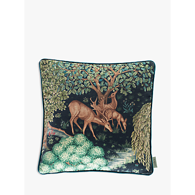 Morris & Co.The Brook Cushion, Blue Multi