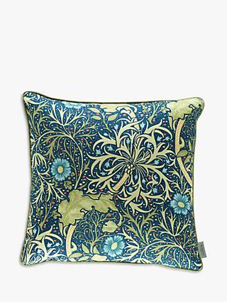 Seaweed Cushion Blue Multi