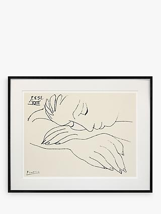 Picasso - War and Peace Framed Print & Mount, 60 x 80cm