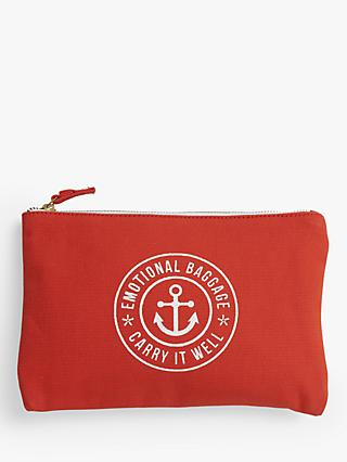 School of Life Emotional Baggage Pouch Purse