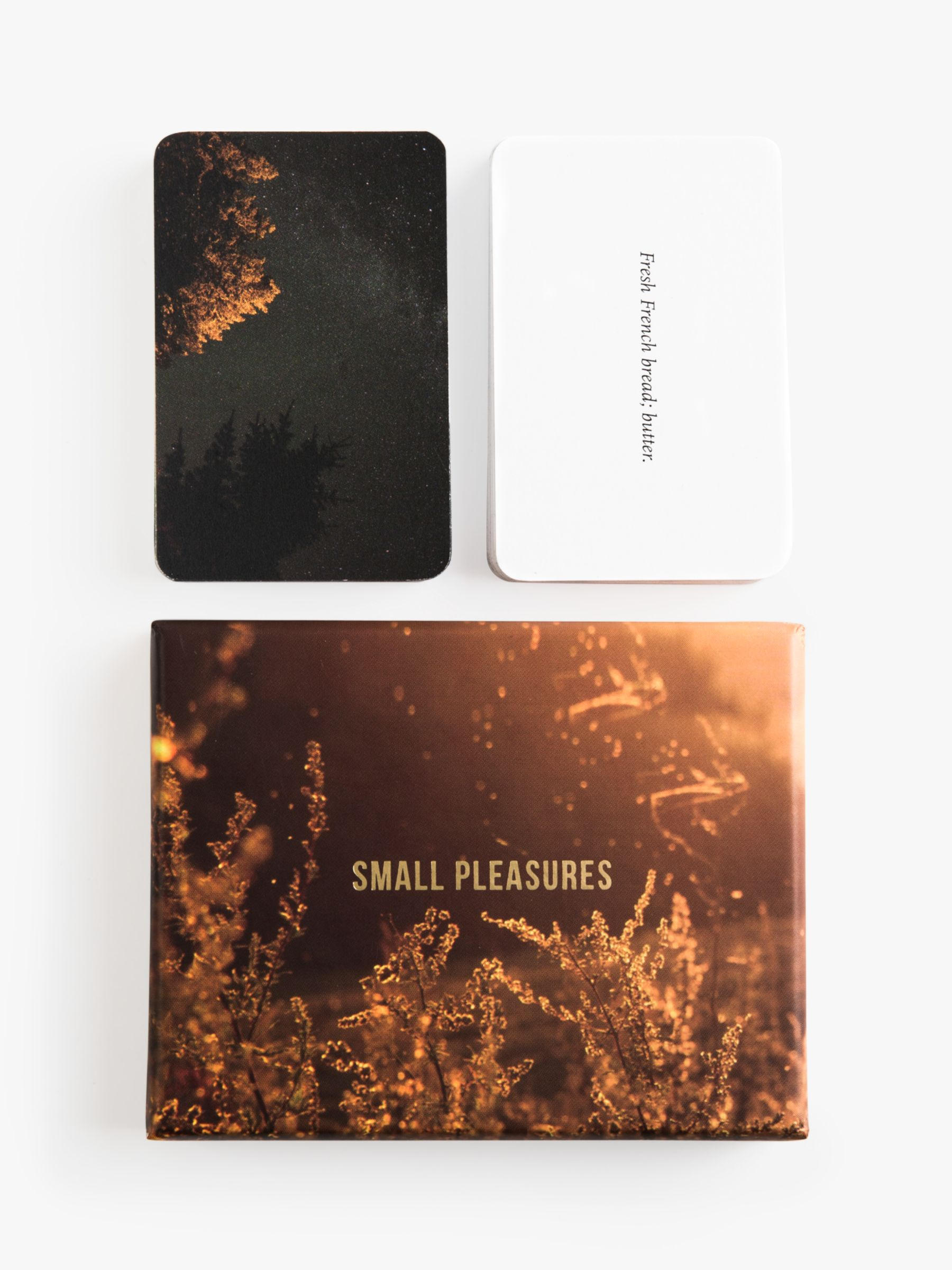School of Life Small Pleasures Prompt Cards