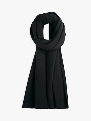 hush Cashmere Shawl, Black