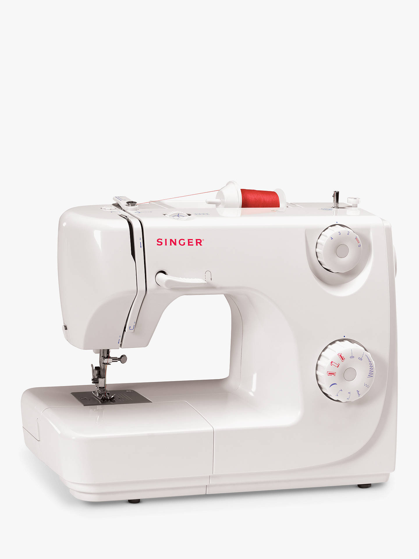 BuySinger 8280 Sewing Machine, White Online at johnlewis.com