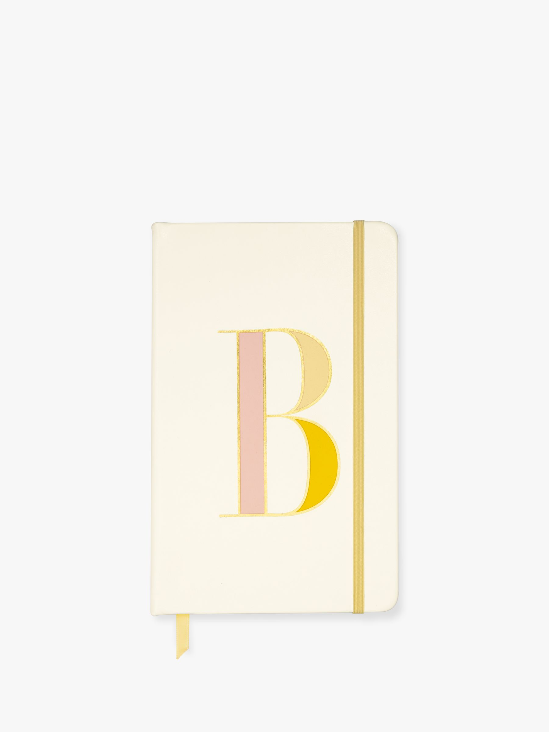 Buy kate spade new york A5 Initial Notebook, B Online at johnlewis.com