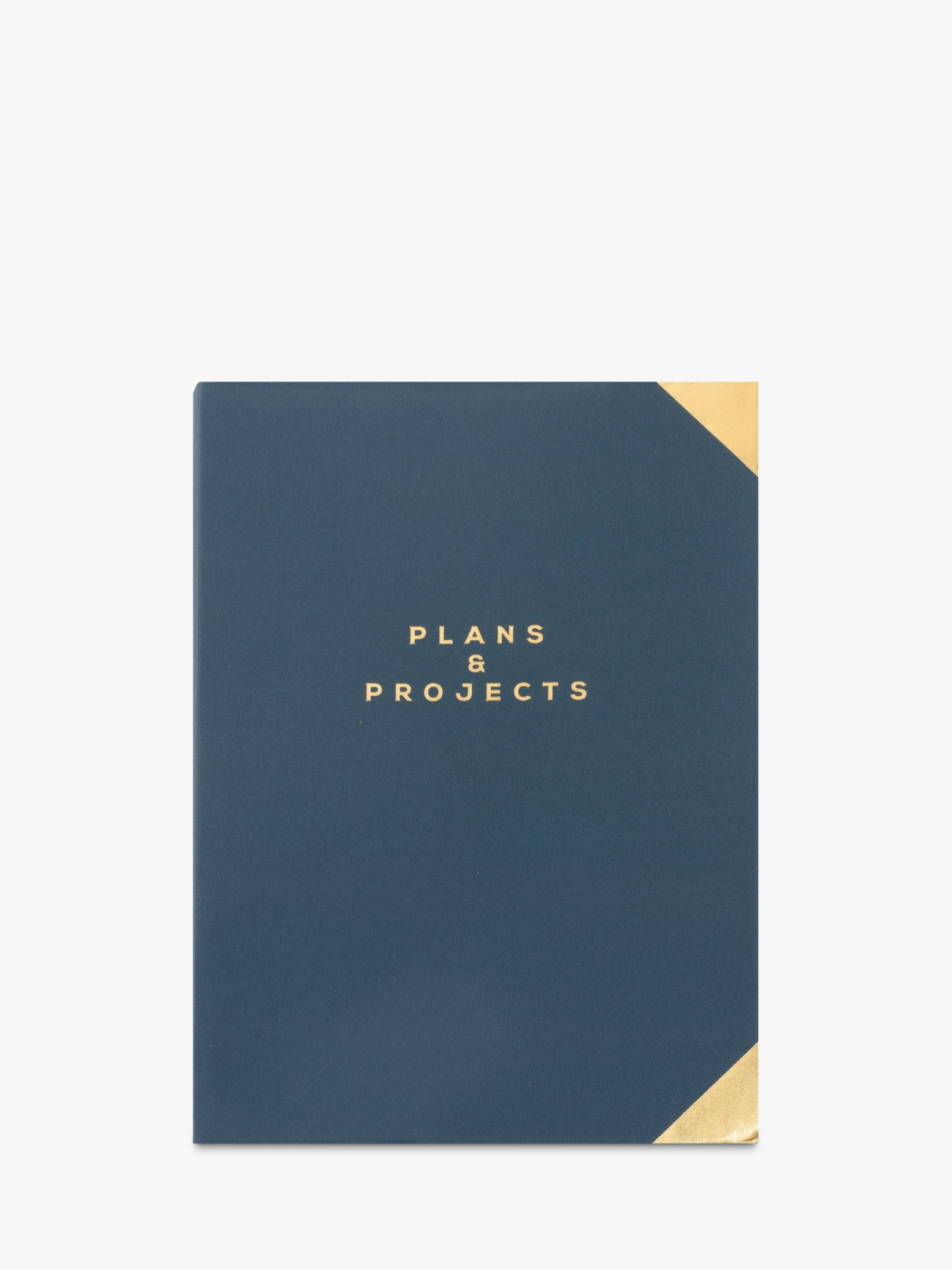 Buy John Lewis & Partners Soft Cover Notebook, Navy Online at johnlewis.com