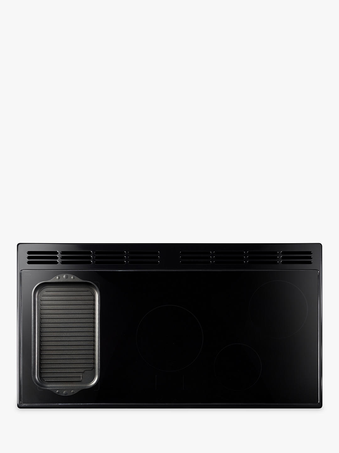 Buy Rangemaster Elan Deluxe 90 Induction Range Cooker, Black Online at johnlewis.com