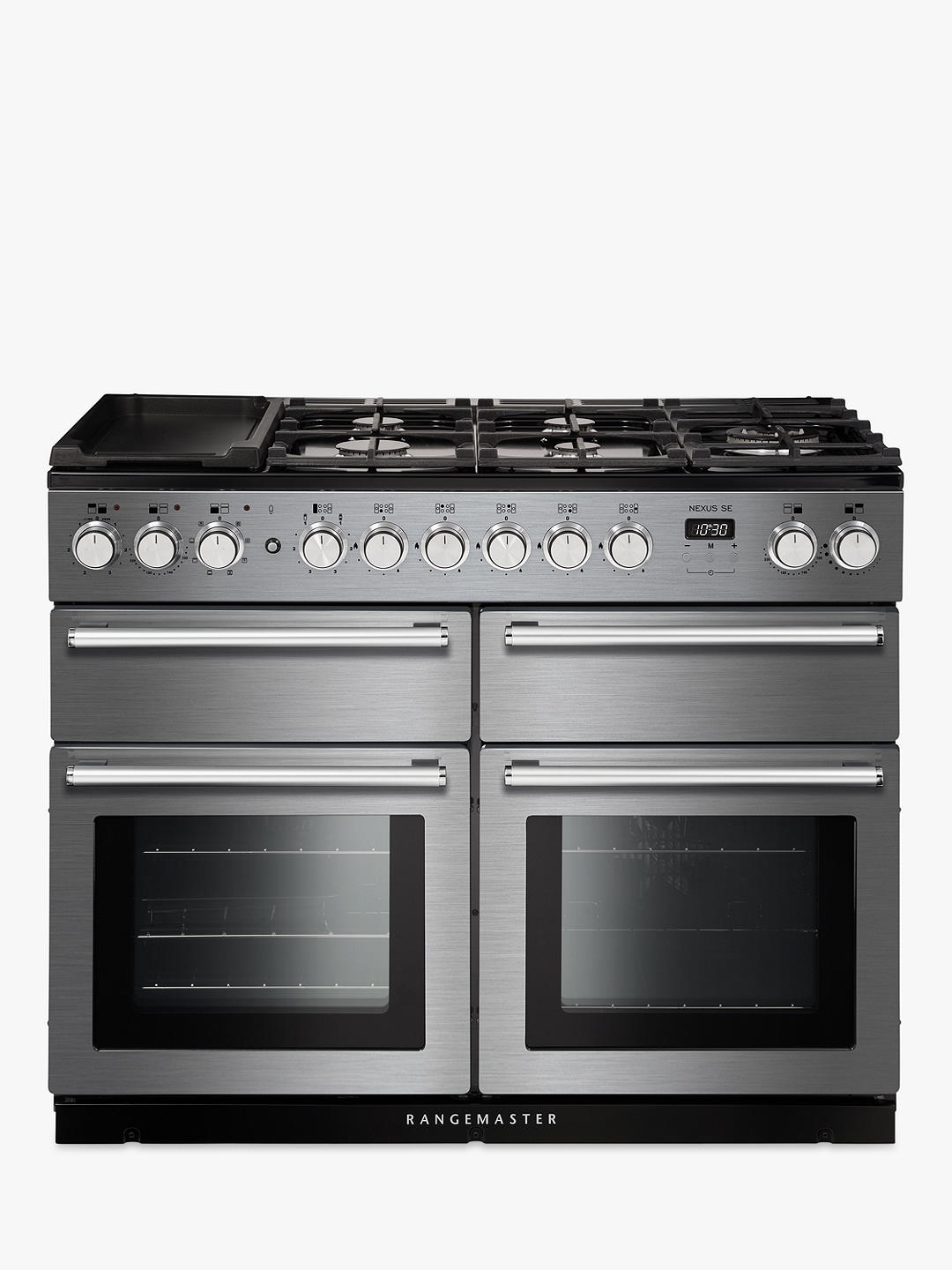 Buy Rangemaster Nexus SE 110 Dual Fuel Range Cooker, Stainless Steel Online at johnlewis.com