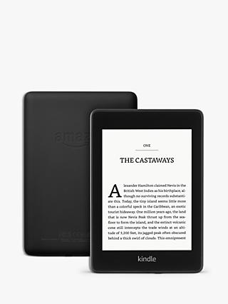 "Amazon Kindle Paperwhite, Waterproof eReader, 6"" High Resolution Illuminated Touch Screen, Built-In Audible, 8GB, with Special Offers"