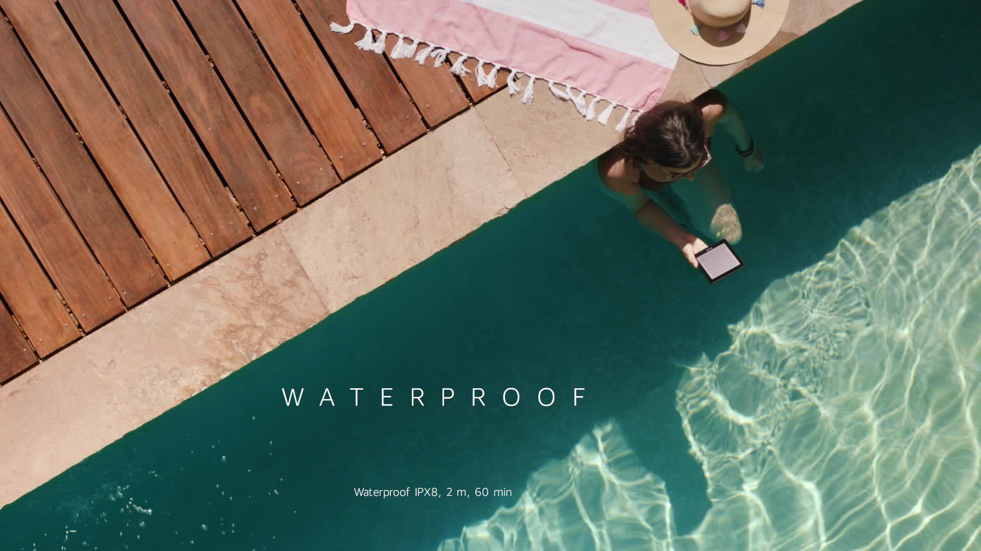 Amazon Kindle Paperwhite, Waterproof eReader, 6