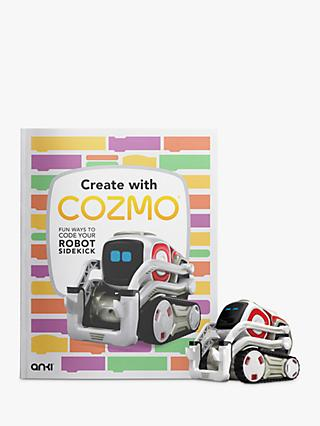 Anki Cozmo Robot plus Create with Cozmo book and Tread Pack bundle